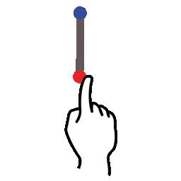 gestureworks, i, letter, stroke, uppercase icon