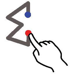 gestureworks, stroke, sum icon