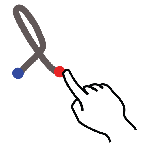 gestureworks, greek, lamda, stroke icon