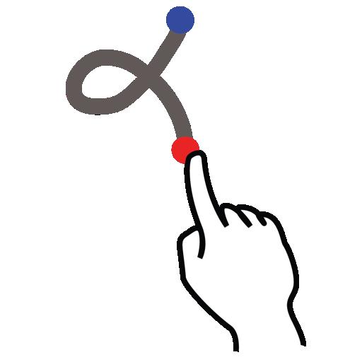 gestureworks, k, letter, stroke, uppercase icon