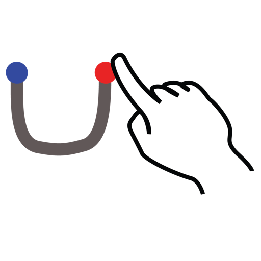 gestureworks, letter, stroke, u, uppercase icon