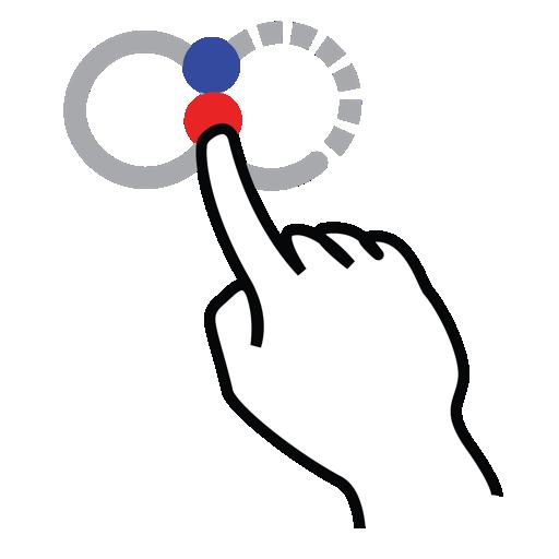 gestureworks, infinity, shape, stroke icon