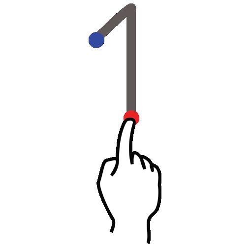 arrow, gestureworks, stroke, up icon