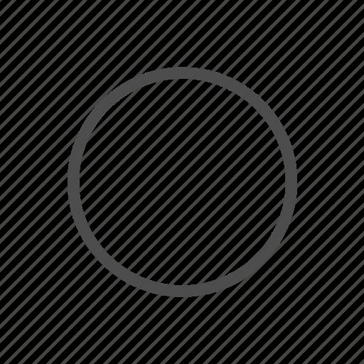 blank, check, circle, circular icon