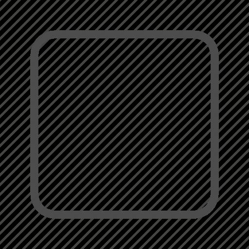 blank, check, empty, square icon