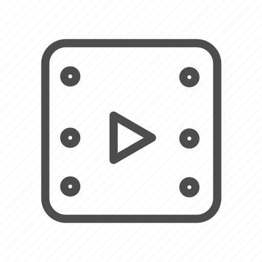 Movie, play, player, showbiz, video icon - Download on Iconfinder