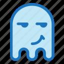 emoji, emoticon, envy, ghost, halloween icon