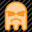 cool, emoji, emoticon, ghost, glasses, halloween, thug icon