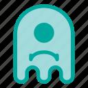 emoji, emoticon, ghost, halloween icon