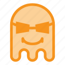 cool, emoji, emoticon, ghost, halloween, savage, thug icon