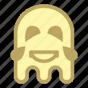 emoji, emoticon, ghost, laugh icon