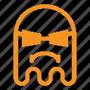 cool, emoji, emoticon, ghost, savage, thug icon