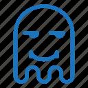emoji, emoticon, envy, ghost, smile icon