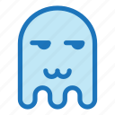 cat mouth, emoji, emoticon, envy, ghost, halloween icon