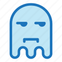 emoji, emoticon, envy, ghost, halloween icon