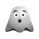 clumsy, emoji, emoticon, ghost, sickness, smiley icon