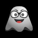 cool, emoji, emoticon, ghost, smiley, sunglasses icon