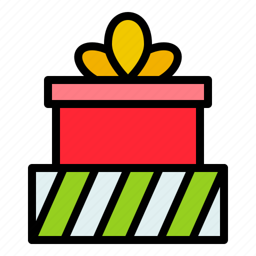 box, gift, gift box, package, present icon