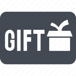 card, gift cards, giftcard, giftcards, present icon
