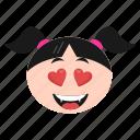 cat, emoji, emoticon, face, girl, kitten, women
