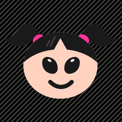 Alien, emoji, emoticon, face, girl, women icon - Download on Iconfinder