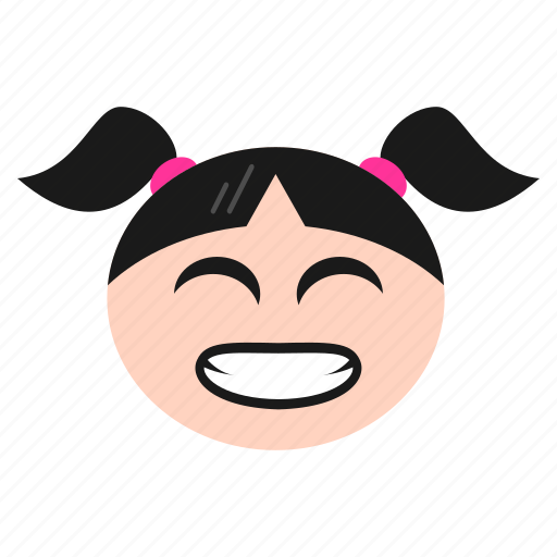 Face, girl, grimacing, irritated, mouth, open, women icon - Download on Iconfinder