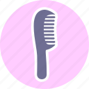 comb, hair comb, hairdresser icon