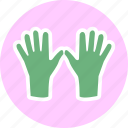 glove, gloves, hand, mitten icon