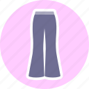 accessories, clothes, fashion, pants icon