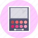 beauty, makeup, makeup sticker, shadow icon