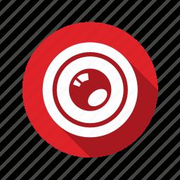 eye, glass, photo, view, zoom icon