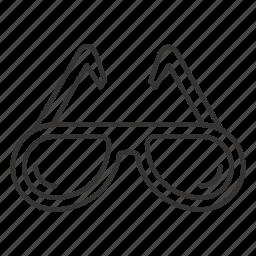 eye, eyeglass, eyeglasses, glass, glasses, sunglasses icon