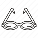 eye, eyeglass, eyeglasses, glass, glasses, sunglasses icon