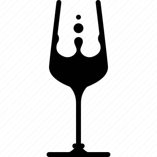 alcohol, bar, champagne, drink, glass, pouring, yumminky icon