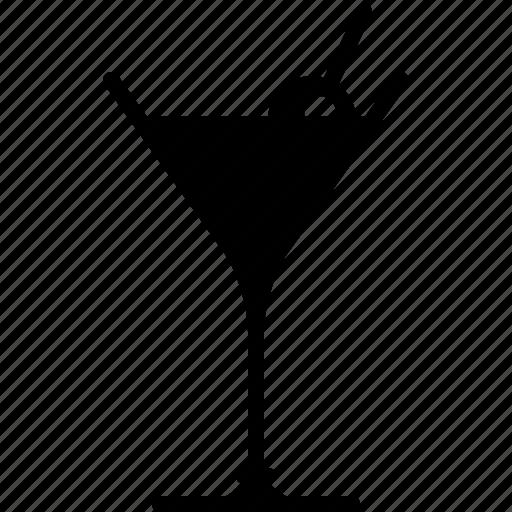 alcohol, bar, drink, glass, martini, night club, yumminky icon