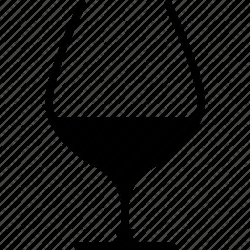 alcohol, bar, brandy, cognac, drink, glass, yumminky icon