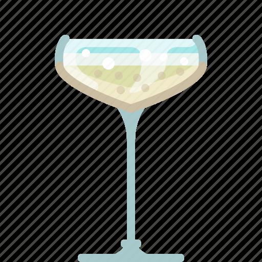 bar, celebration, champagne, drink, glass, new year, yumminky icon
