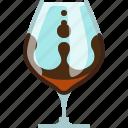alcohol, bar, brandy, cognac, drink, glass