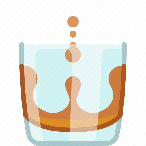 alcohol, bar, drink, glass, night club, pouring, yumminky icon