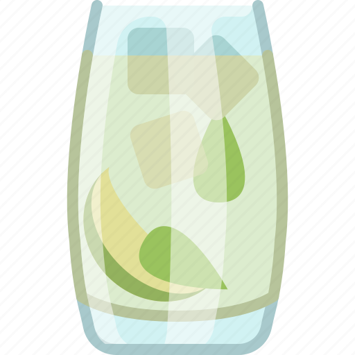 alcohol, bar, drink, glass, kitchen, mojito, yumminky icon