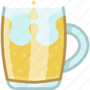 beer, drink, glass, mug, pub, tavern icon