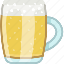 beer, drink, glass, mug, pub, tavern icon