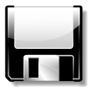 disk, floppy, save, save as icon
