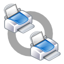 class, connect, net, print icon