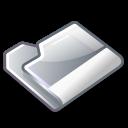 folder, grey icon