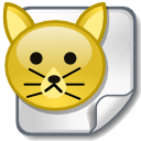 animal, cat, file icon