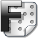 f, source icon
