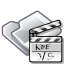 film, folder, movie, video icon