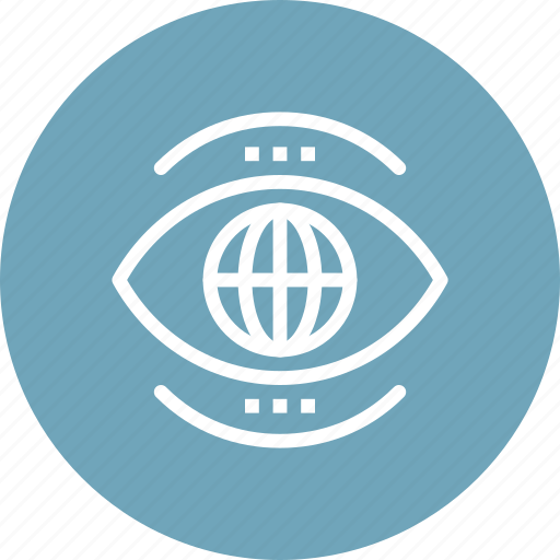 eye, global, search, view, vision, watch, world icon