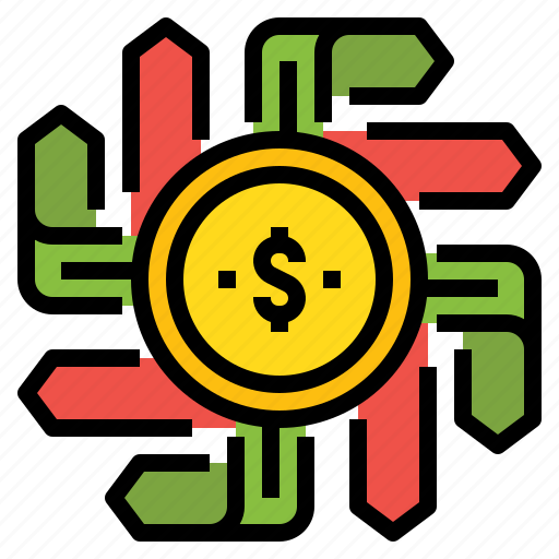 Business, choose, decision, direction, money icon - Download on Iconfinder